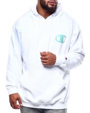 Champion - L/S Logo Fleece Printed Pullover Hoodie (B&T)-2290353