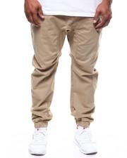 Big & Tall Faves - Stretch Twill Jogger Pants (B&T)-2290393