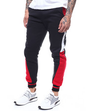 Sweatpants - Panel colorblock Jogger Pant-2290152