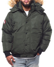 Big & Tall - Parka Bomber Jacket (B&T)-2290374