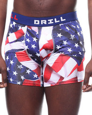 Loungewear - American Flag Boxer Brief-2289657