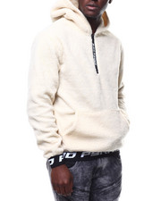 Stylist Picks - Full Sherpa Zip Logo Hoodie-2290597