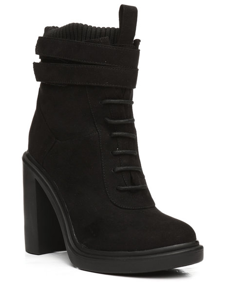 Fashion Lab - Modelo-1 Lace Up Bootie