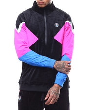 Pink Dolphin - TECH VELOUR JACKET 3.0-2291020
