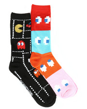 DRJ SOCK SHOP - Packman 2Pk Crew Socks-2290857