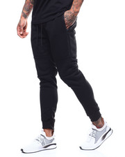 Sweatpants - Jogger w Zip Weatherproof Tape Pockets-2290913
