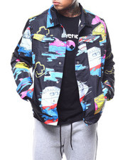 Pink Dolphin - SAIL AWAY DENIM JACKET-2291024