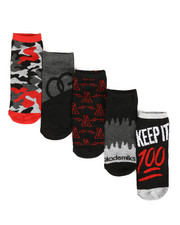 DRJ SOCK SHOP - Og 5 Pack Low Cut Socks-2290728