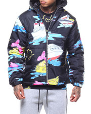 Pink Dolphin - SAIL AWAY PUFFER JACKET-2291036