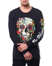 True Religion - SKULL BLOOM LS CREW NECK TEE-2291566