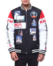 Outerwear - The Worm Launch Snap Bomber Jacket-2291874