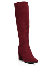 Fashion Lab - Daystar Chunky Heeled Knee High Boots-2291340