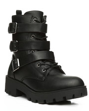 Fashion Lab - Wildone Multi Strap Bootsie-2291304