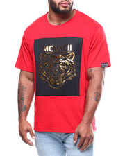 Phat Farm - Embossed Tiger Metallic Tee (B&T)-2291729