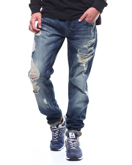 True Religion - SLIM NO FLAP Jean