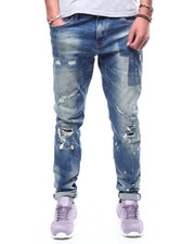 Crysp - Atlantic Jean - Vintage Blue Rip and Repair-2291662
