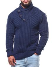 Men - Mock Neck L/S Sweater (B&T)-2291474