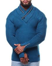 Men - Mock Neck L/S Sweater (B&T)-2291571