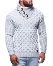 Men - Mock Neck L/S Sweater (B&T)-2291453