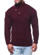 Men - Mock Neck L/S Sweater (B&T)-2291499