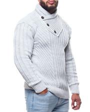 Men - Mock Neck L/S Sweater (B&T)-2291600