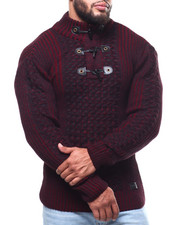 Men - Mock Neck L/S Sweater (B&T)-2291489