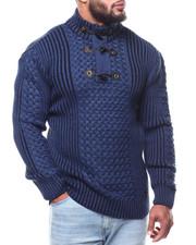 Men - Mock Neck L/S Sweater (B&T)-2291519