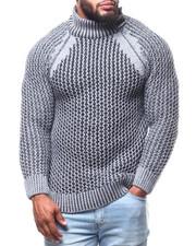 Men - Mock Neck L/S Sweater (B&T)-2291609