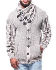 Men - Mock Neck L/S Sweater (B&T)-2291556