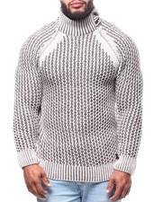 Men - Mock Neck L/S Sweater (B&T)-2291645