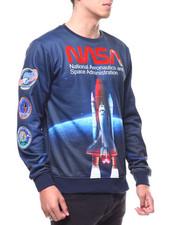 Hudson NYC - Nasa Spaceship Crewneck Sweatshirt-2291820