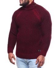 Men - Mock Neck L/S Sweater (B&T)-2291530