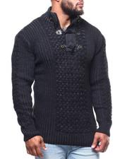 Men - Mock Neck L/S Sweater (B&T)-2291631