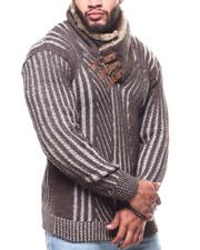 Men - Mock Neck L/S Sweater (B&T)-2291650
