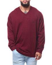 Nautica - Vneck Sweater  (B&T)-2292205