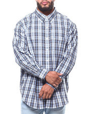 Shirts - L/S Plaid Premium Essential (B&T)-2292267