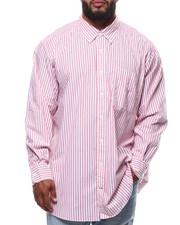 Men - L/S Stripe Woven (B&T)-2292320