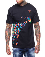 Shirts - Abstract Giraffe Tee-2292185