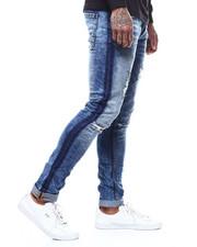 Jeans - REVERSE WASHED TUXEDO STRIPE JEAN-2292437