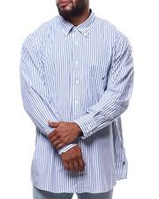 Men - L/S Stripe Woven (B&T)-2292331