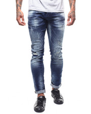 Jeans & Pants - 5 -YEAR WASH DISTRESSED JEAN-2292417