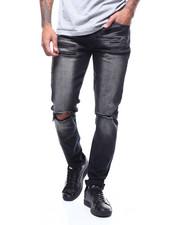 Jeans - BLOWN OUT KNEE ZIPPER THIGH-2292783