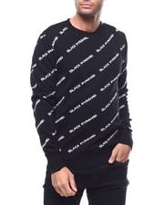 Black Pyramid - BP Monogram Knit Sweater-2292928