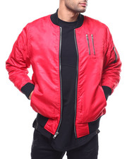 Men - Bomber Jacket  w Zipper Detail-2293041