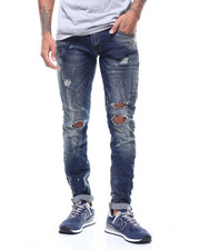 Jeans - AGED WASHED DISTRESSED JEAN-2292746