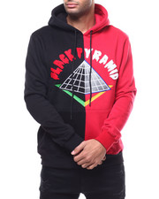 Black Pyramid - Split Block Drip Logo Hoody-2292871