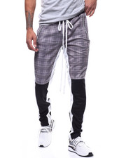Buyers Picks - GLEN PLAID TRACK PANT-2293064