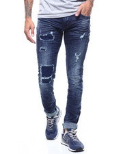 Men - RIPPED PATCHED UP JEAN-2292722