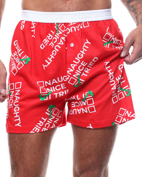 Buyers Picks - Christmas Naughty, Nice, I Tried Boxers