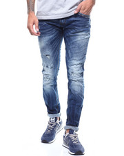 Jeans & Pants - WORN KNEE DISTRESSED JEAN-2293184